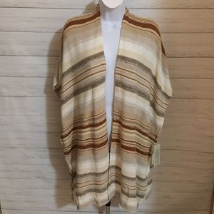 RD Style Open Poncho/Cardigan